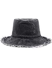 MZ Sombrero Grande Pescador Sombrero al Aire Libre Visera Sol Barba Grande  Sombrero para el Sol 54d58f20363