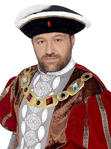 Amazon Henry Kostüm Viii (Smiffy's 24472 - Henry VIII Hut,)
