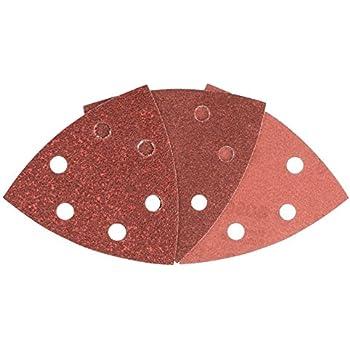 Bosch 2609256A28 6-Piece Sanding Sheet Set for Random Orbit Sanders 125.60 120 240