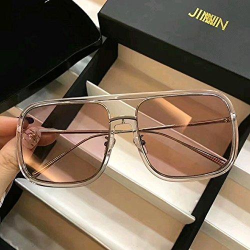 Unisex Sonnenbrille Für 2017 New ACETATE OPTICAL GLASSES man Sunglasses for Jinnnn Fox Eyeware-White frame Red lenses