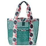 Juboury Mesh Strandtasche auch ideal als Badetasche