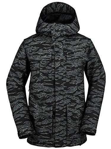 Volcom, Giacca Termica da Uomo Colore: Mimetico; Taglia: L, Uomo, Alternate Insulated, Camouflage, S