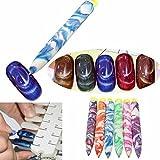 tfxwerws Durable colorido uñas decoración de uñas manicura Art Peinture imán Pen Accesorios