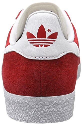 Adidas Unisex Adulto Gazelle Low-top Rosso