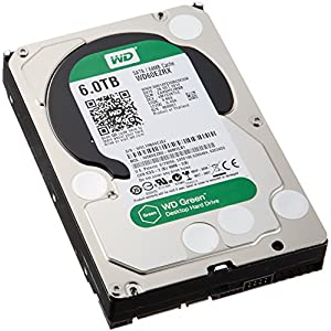 WD Green Disque dur interne (Bulk) Desktop Mainstream 6 To 3,5 pouces SATA intellipower- Modèle aléatoire