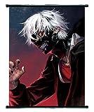 Tokyo Ghoul Pergamena da appendere a parete, motivo: Kaneki, protagonista di un anime, dalle dimensioni medie di 40 cm x 60 cm