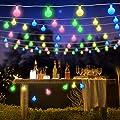 LED Kugel Lichterkette 5M 50 LED Lichterkette für Weihnachten Hochzeit Party