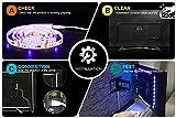 LED TV Hintergrundbeleuchtung 2m Kit Für 40-60 Zoll TV,Pangton Villa RGB 5050 led Strip mit Fernbedienung Usb TV Beleuchtung,MEHRWEG - 4