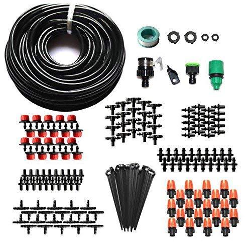 Bewässerungssystem Bewässerung Kits DIY Micro Flow Tropf 15M Blank Verteilung Schläuche Schlauch Düsen Drippers, By WHOLEV