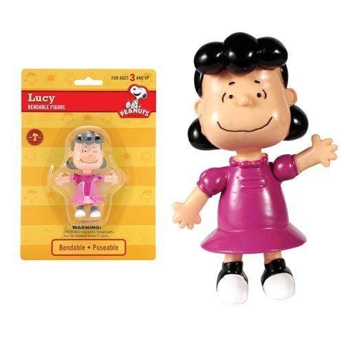 Peanuts Lucy 3,6 Zoll biegbare Figur (Peanuts Lucy Von Den)