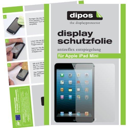 dipos I 6X Schutzfolie matt passend für Apple iPad Mini/Mini 2 Folie Displayschutzfolie -