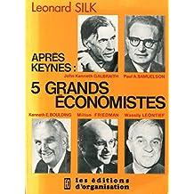 5 grands économistes - broché