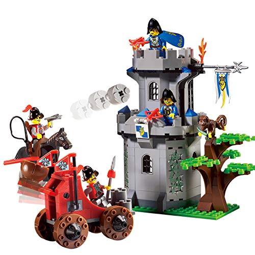 Yyz Technology Series Mittelalterliche Burg Puzzle Assembled Building Blocks Puzzle-Pack Spielzeug Burg Geburtstagsgeschenk (Lego Burgen Für Jungen)