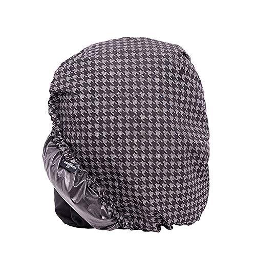 WEATHERGOODS wasserdichte Abdeckung Regenschutz für Fahrradkörbe, Rucksack, Fahrradtasche, Gepäckträger mitt Reflex