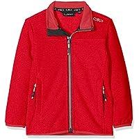 CMP Forr Knit Tech 38H2145 Chaqueta, Niñas, Rojo (Corallo), 164
