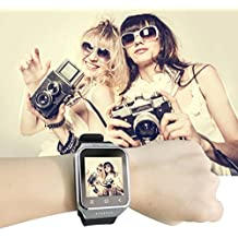 ZGPAX S8 Bluetooth Smart Watch Android 4.4 MTK6572 Dual Core GPS 3.0MP Cámara WCDMA WiFi MP3 MP4 Smartwatch Phone (Color: plateado)