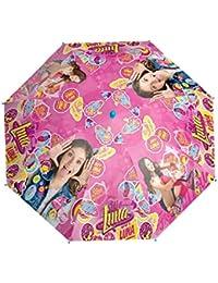 Soy Luna Paraguas Manual Smile Apertura Seguridad 42cm