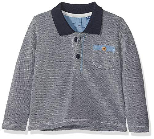 TOM TAILOR Kids Baby-Jungen Poloshirt Polo 1/1 Sleeve, Blau (Black Iris|Blue 3800), 74