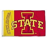 NCAA Iowa State Cyclones 3-by-5Pied Drapeau avec œillets
