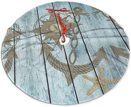 N/A Paddington - Falda para árbol de Navidad, diseño de Ancla, de ...