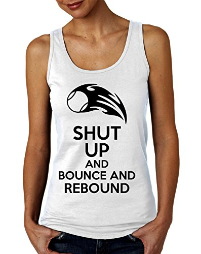 Shut Up And Bounce And Rebound Women's Tank Top T-Shirt XX-Large (Bounce-walker)