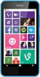 Nokia Lumia 630 Single-SIM Smartphone (4,5 Zoll (11,4 cm) Touch-Display, 8 GB Speicher, Windows 8.1) cyan