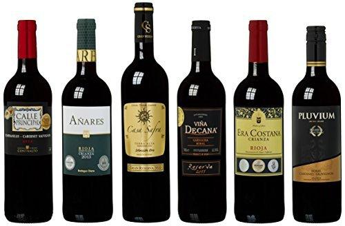 Wein Probierpaket spanische Spitzenweine Trocken (6 x 0.75 l)