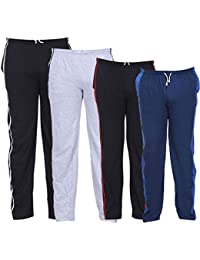 069d497fd TeesTadka Men's Cotton Track Pants for Men Value Pack Combo Offer for Men  Gym Track Pants