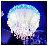 #1: homeshop52 Peacock Ceiling Fixture Light (Multicolour)