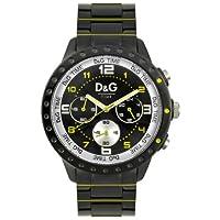 Reloj Dolce & Gabbana D&G Dolce&Gabbana de cuarzo unisex con correa de acero inoxidable, color negro de Dolce and Gabbana