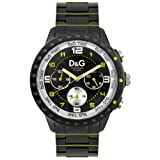 D&G Dolce&Gabbana Unisex-Armbanduhr Analog Quarz Edelstahl DW0193