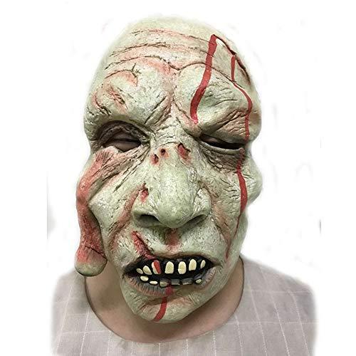 BG&MF Horror Maske, Halloween Terrorist Requisiten Ball Devil Dress up Horror Sprengung Zombie Gesichtsmaske Kopf Maske Gesicht Requisiten-Augapfel