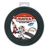Zuru Mayka Tape - 2 Stud Black 2 Metres