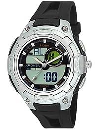 Vizion Black Dial Analog-Digital Dual Time GREYShade Watch For Men-8009017AD-2