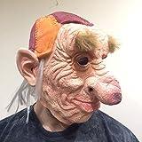 The Rubber Plantation TM 619219292351 Hoggle Troll - Máscara de látex para disfraz de Halloween, adulto unisex, talla única