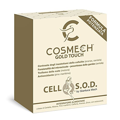 Cosmech Cell S.O.D. by Gianluca Mech - integratore alimentare - anticellulite Tisanoreica