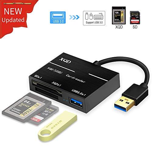Yehua XQD Lector Tarjetas SD USB 3.0 XQD Card Reader