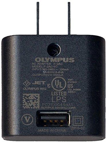 Olympus F-2AC Ladegerät für Mobilgeräte Innenraum Schwarz - Ladegeräte für Mobilgeräte (Innenraum, AC, Schwarz) (Kamera Olympus Tough 3000)