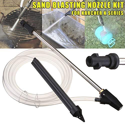 SAFETYON Autowaschpistole Sand und nasses Sprengsatz Schlauch Schnellverbindung mit Hochdruckreiniger mit keramischer Düsenwaschpistole