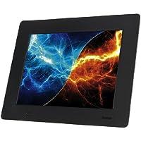 Hama Digitaler Bilderrahmen Slimline Basic (17,8 cm (7 Zoll), SD/SDHC/MMC-Kartenslot, USB 2.0), schwarz