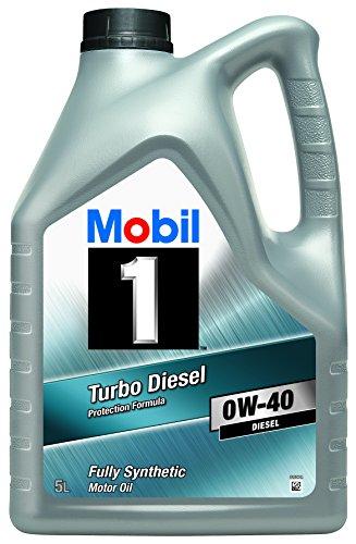 Mobil 1 151041 - Olio motore Turbo diesel 0W/40, 5 lit