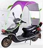 #9: Universal Folding Waterproof Scooter Bike Sunroof Cover for all 2 Wheelers- ALL SEASON