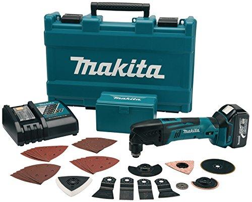 Makita BTM50RFX4 Akku-Multifunktionswerkzeug 18 V, 1 Akku und Ladegerät