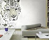 Yosot Benutzerdefinierte Wandbild Fototapete Im Europäischen Stil Modern Leopard Tiger Tier Gemälde Wohnzimmer Schlafzimmer Dekoration Tapeten 3D-250Cmx175Cm