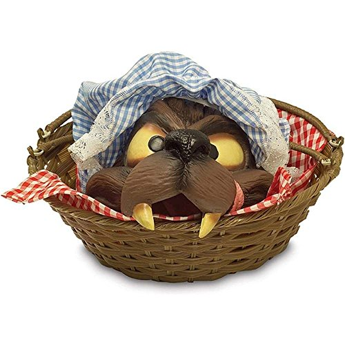 Basket With Wolf's Head ()
