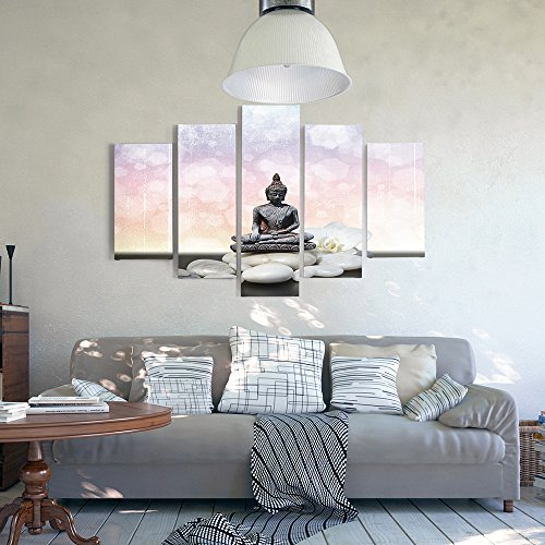 feeby frames multipart canvas 5 panels wall art picture canvas picture decorative picture canvas. Black Bedroom Furniture Sets. Home Design Ideas