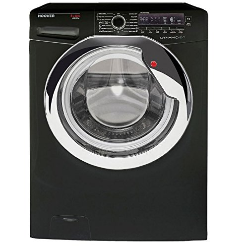 Hoover WDXCC4851B 8kg Wash 5kg Dry 1400rpm Freestanding Washer Dryer-Black