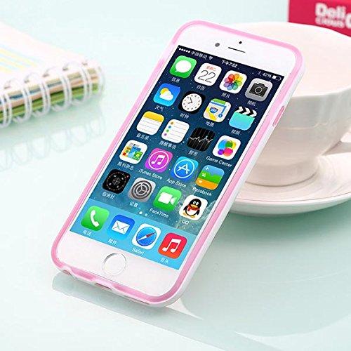 Motif Blackview Back Case Cover Protector BŽquille pour l'iPhone 6 rouge