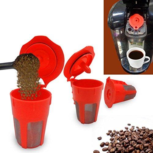 Prime Day On Sale, Covermason Wiederverwendbar Ersatz Kaffeefilter Für Keurig 2.0 K500 K400 Brauer...