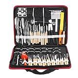 ChaARLes 80Pcs portatile carving strumento ortaggio frutta scatola legno scultura Set coltello
